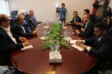 Վահե Հակոբյանն ընդունել է  իրանական <<Արաս>>  ազատ տնտեսական գոտու գործադիր տնօրեն Մոհսեն Խադեմ Արաբ Բաղիի գլխավորած պատվիրակությանը (տեսանյութ)